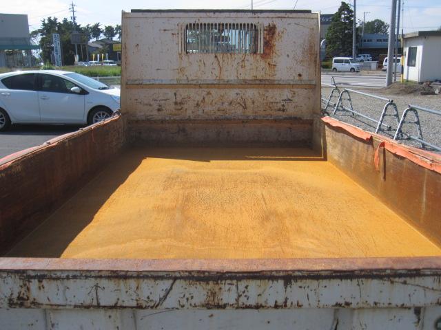 デュトロ2トン全低床ダンプ 手動コボレーン付き